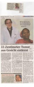 Artikel in den OÖN vom 16.3.2012
