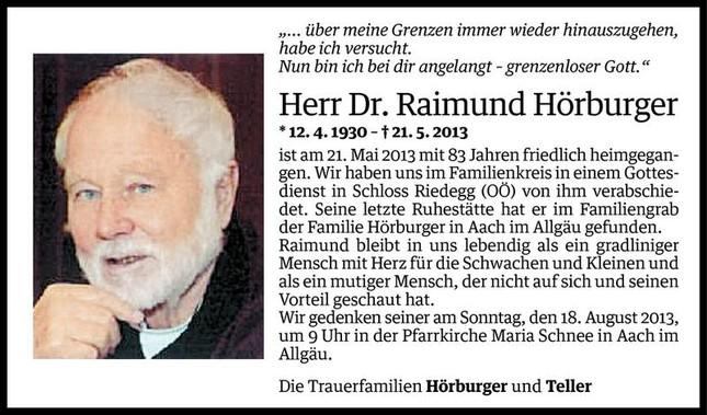 RaimundBestattung