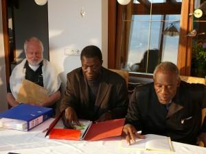 Raimund, Ida Fasena und Irenäus Loyara (VEZ-Treffen Juni 2010 bei Othmar Weber)