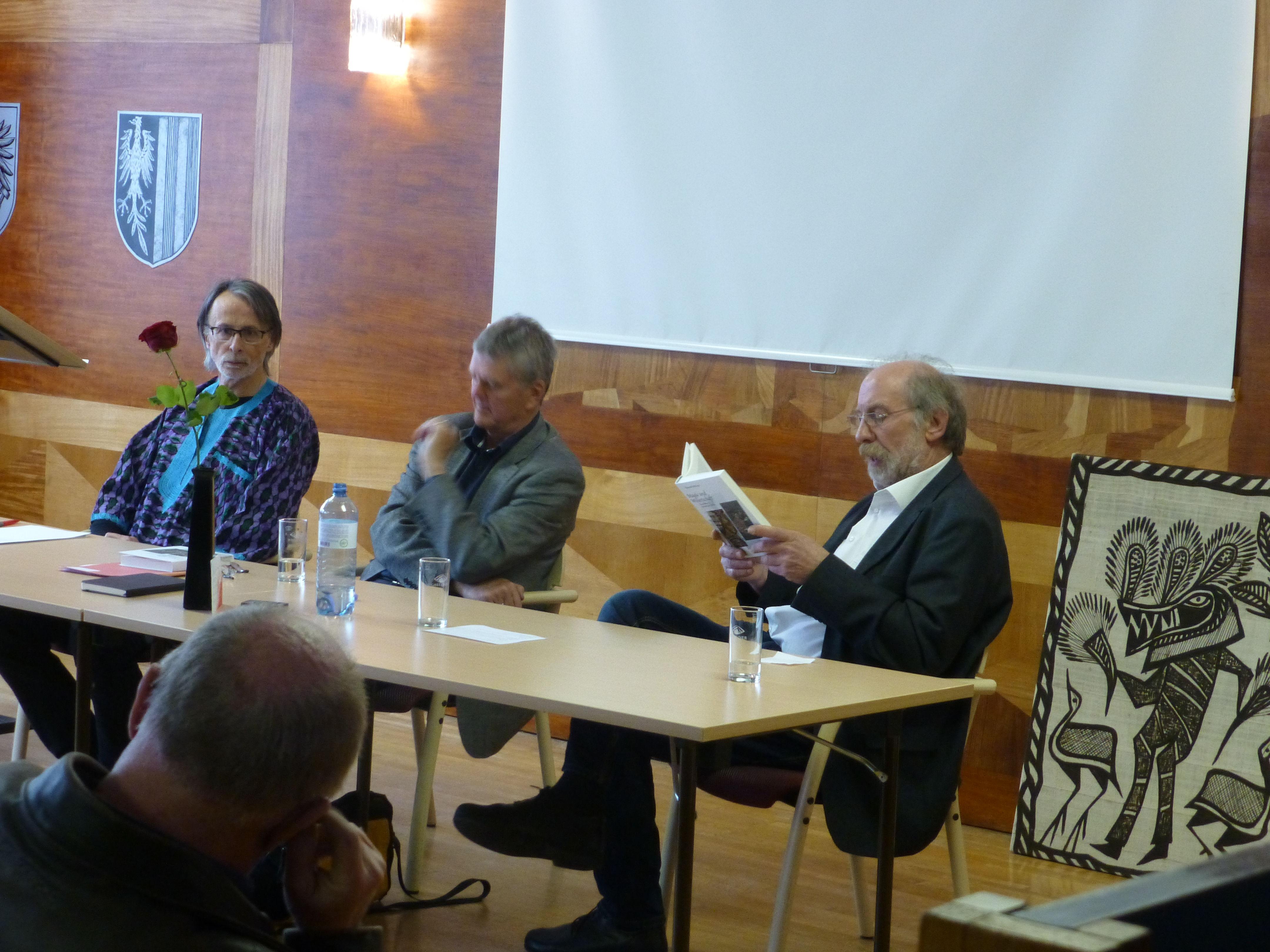 Helmut Nehr, Josef Gunz und Heinz Wasserbauer
