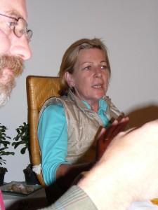 Oktober 2006 bei einer VEZ Sitzung