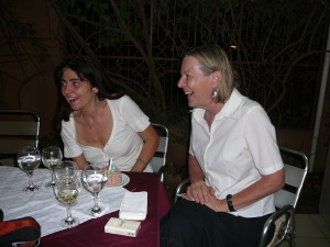 Ein Abend mit einer Freundin im Cafe de Vienne - April 2009